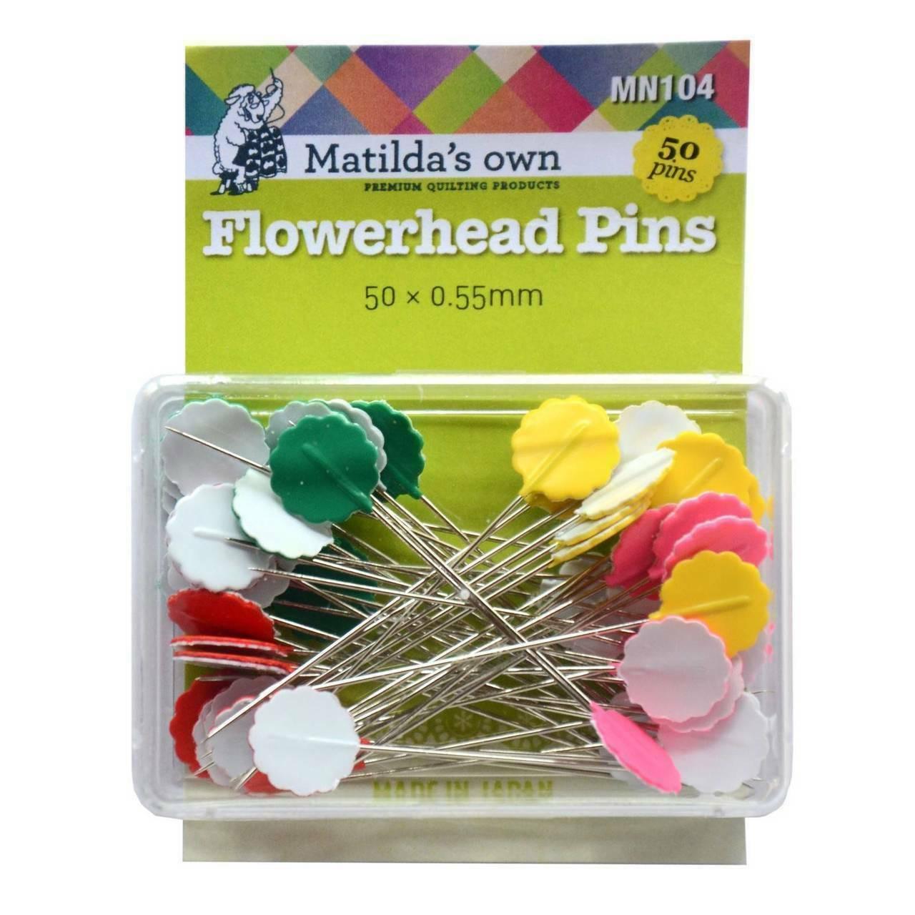 Matildas Own Flowerhead Pins