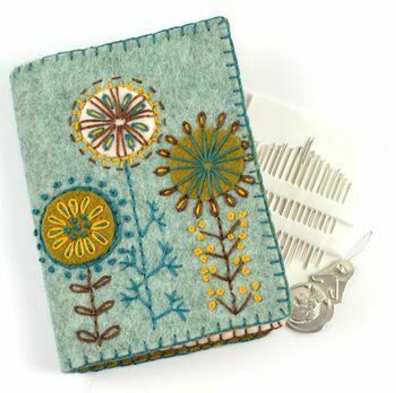 Needle Case Felt Embroidery Kit
