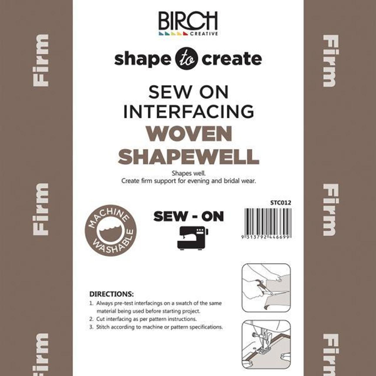 Shape to Create - Sew-in Shapewell