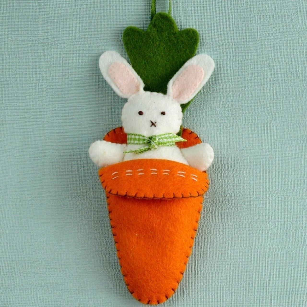 Bunny in Carrot Bed Mini Kit