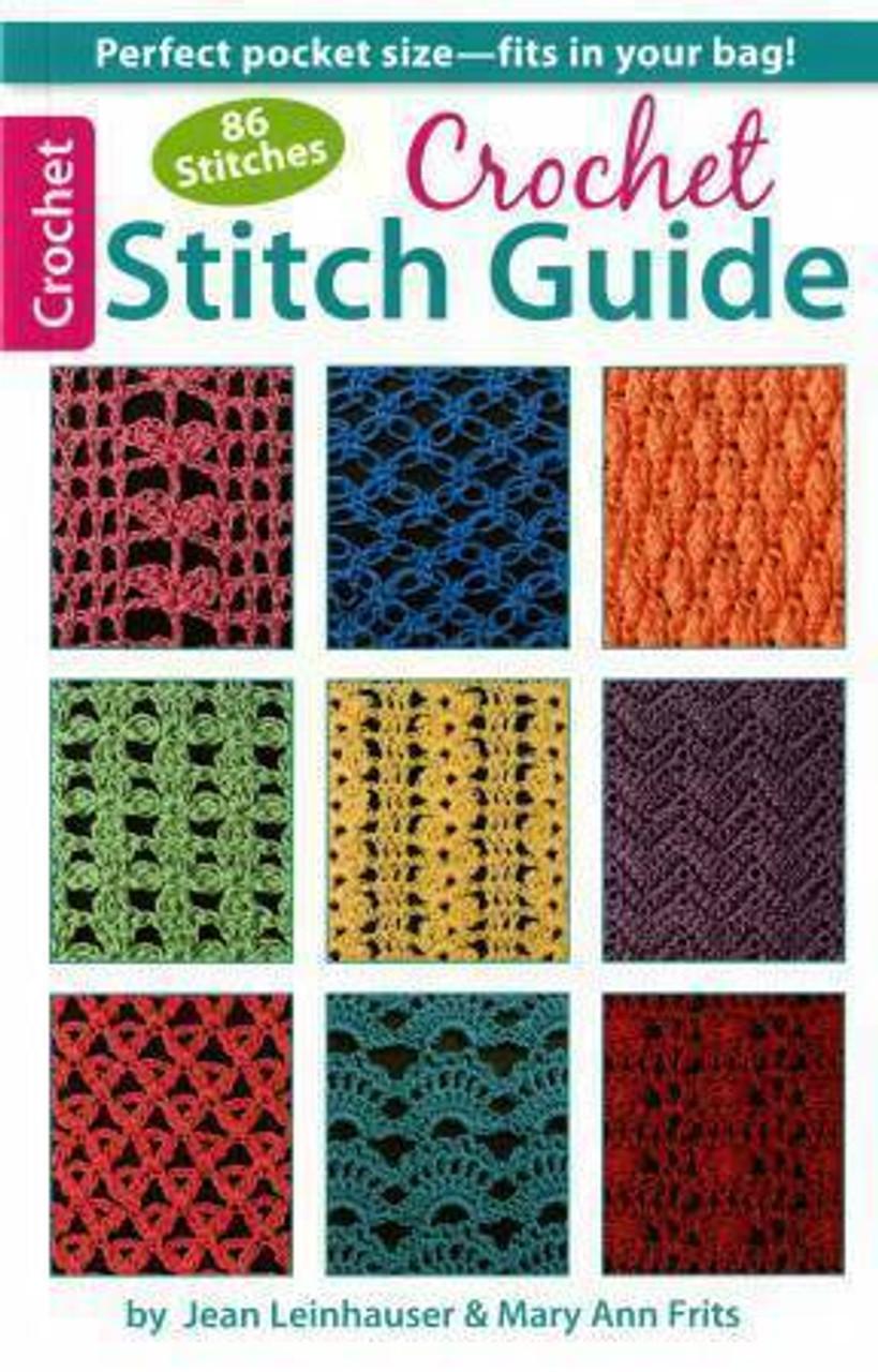 86 Stitches Crochet Stitch Guide