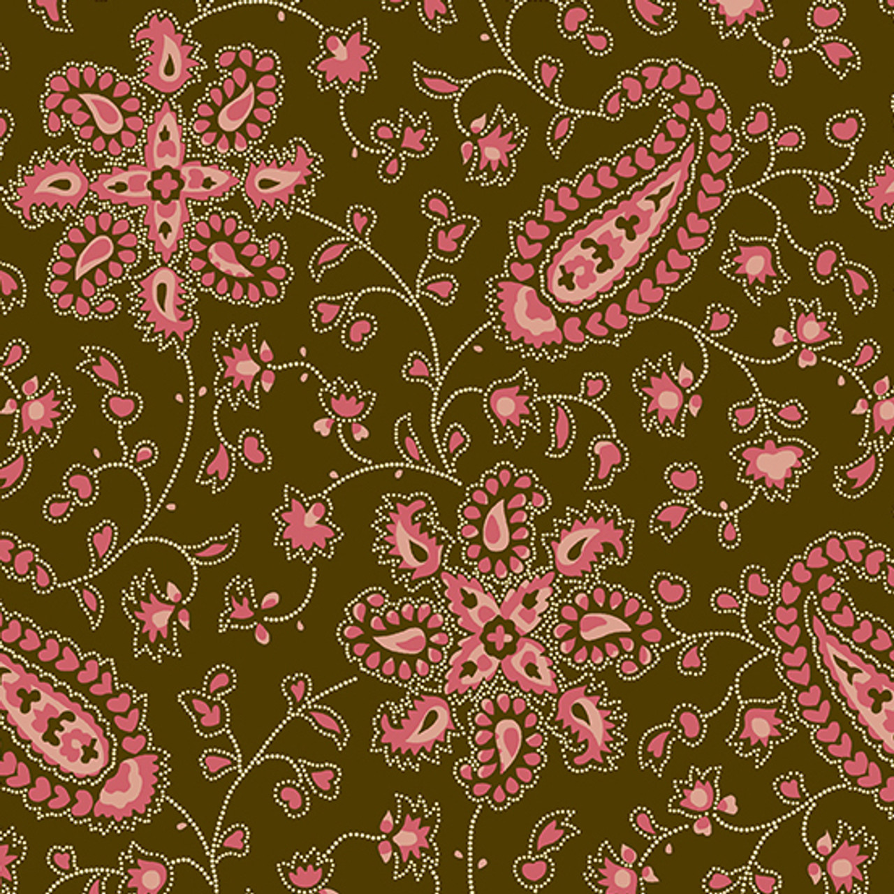 Chesapeake by Di Ford Hall : Paisley, Pink