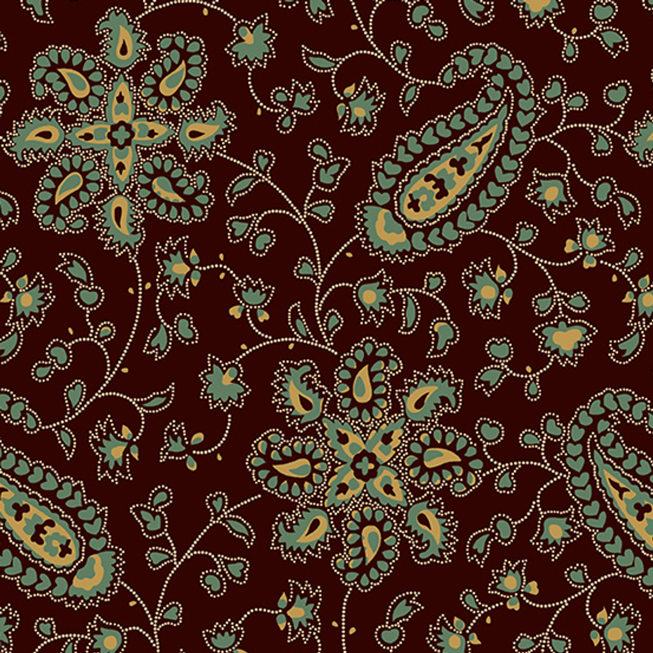 Chesapeake by Di Ford Hall : Paisley, Tan