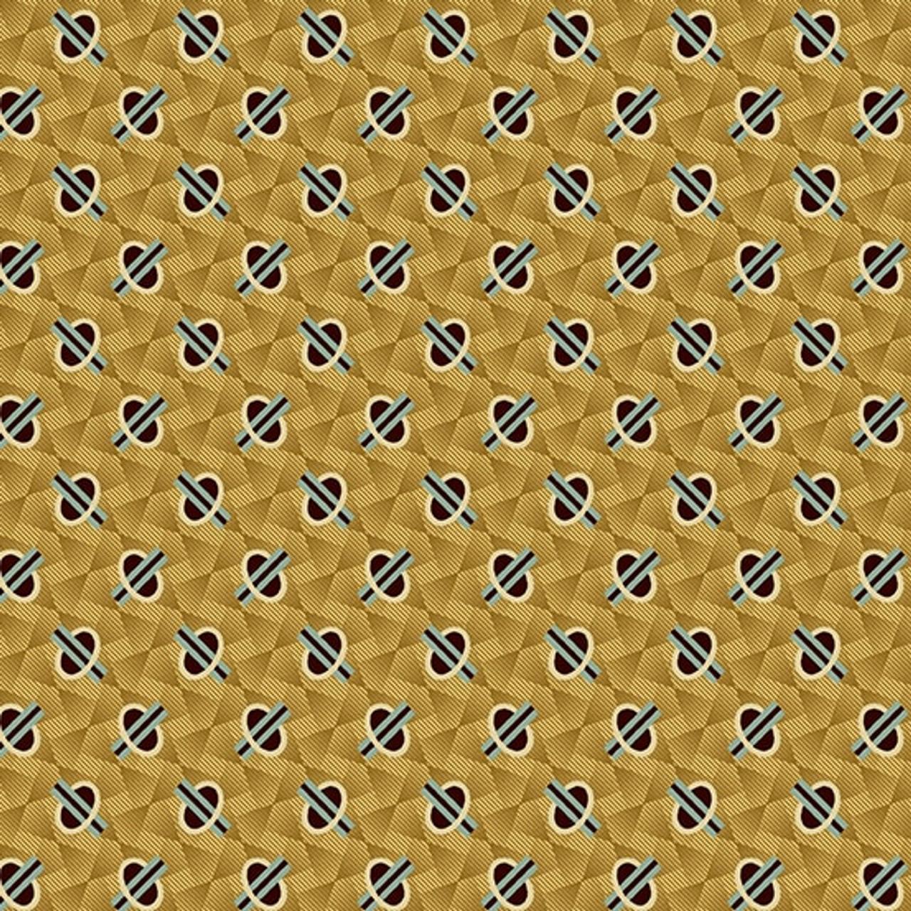 Chesapeake by Di Ford Hall : Geometric, Gold