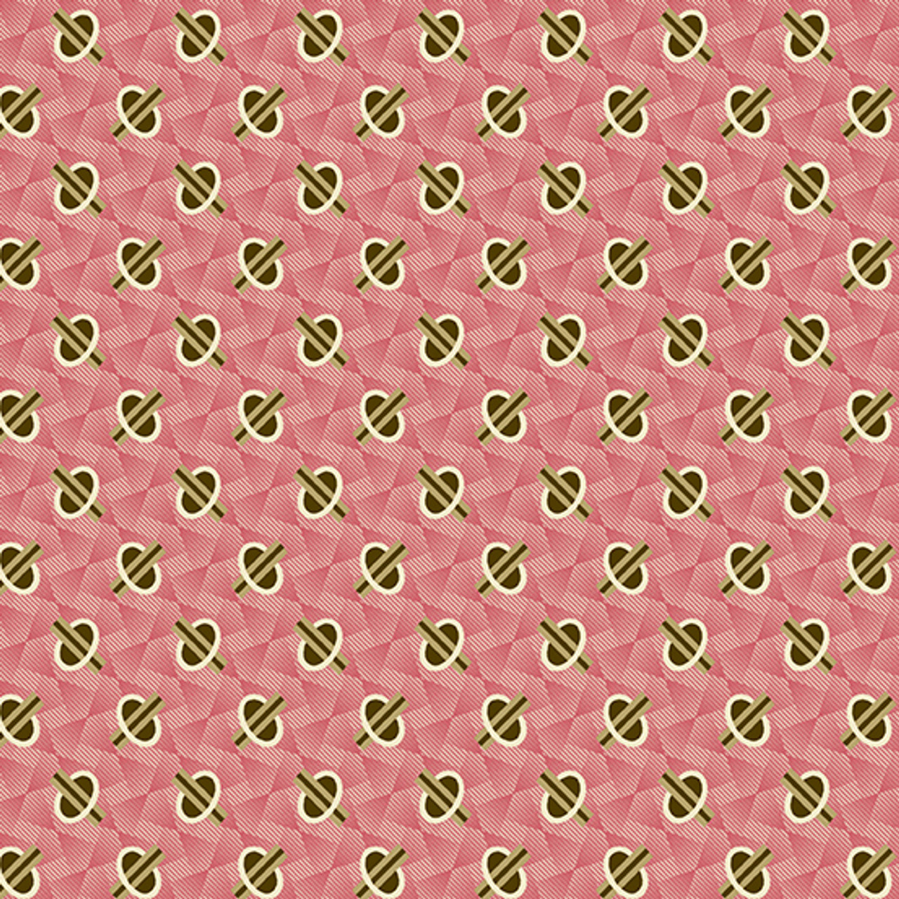 Chesapeake by Di Ford Hall : Geometric, Pink