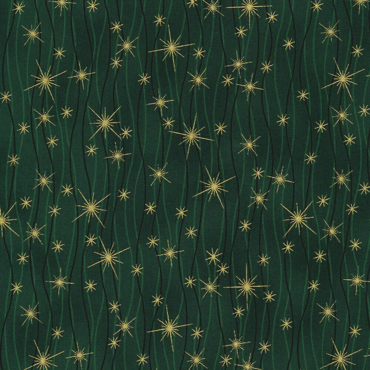 Christmas Wonders : Green Gold 806