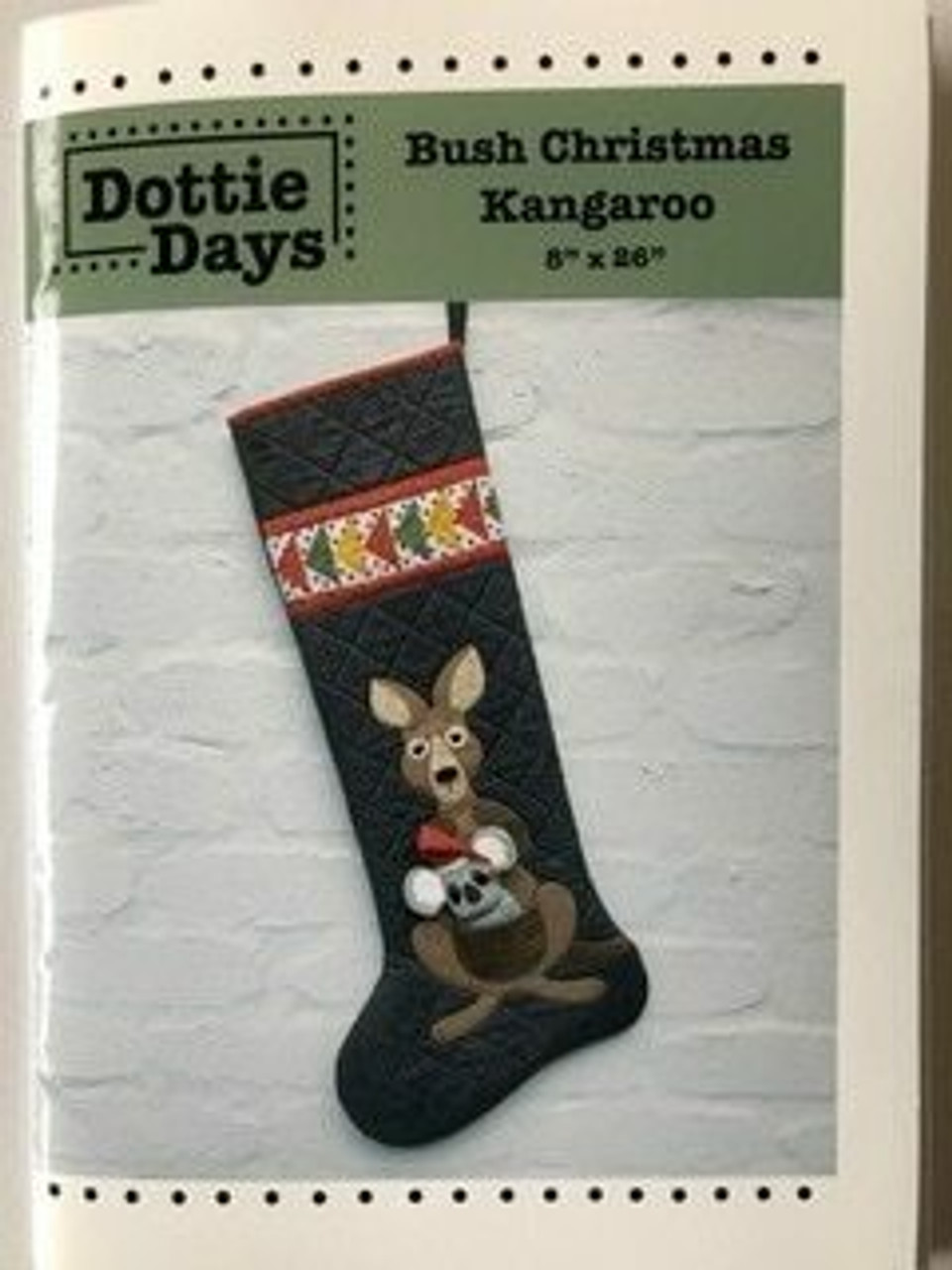 Dottie Days : Bush Christmas Kangaroo