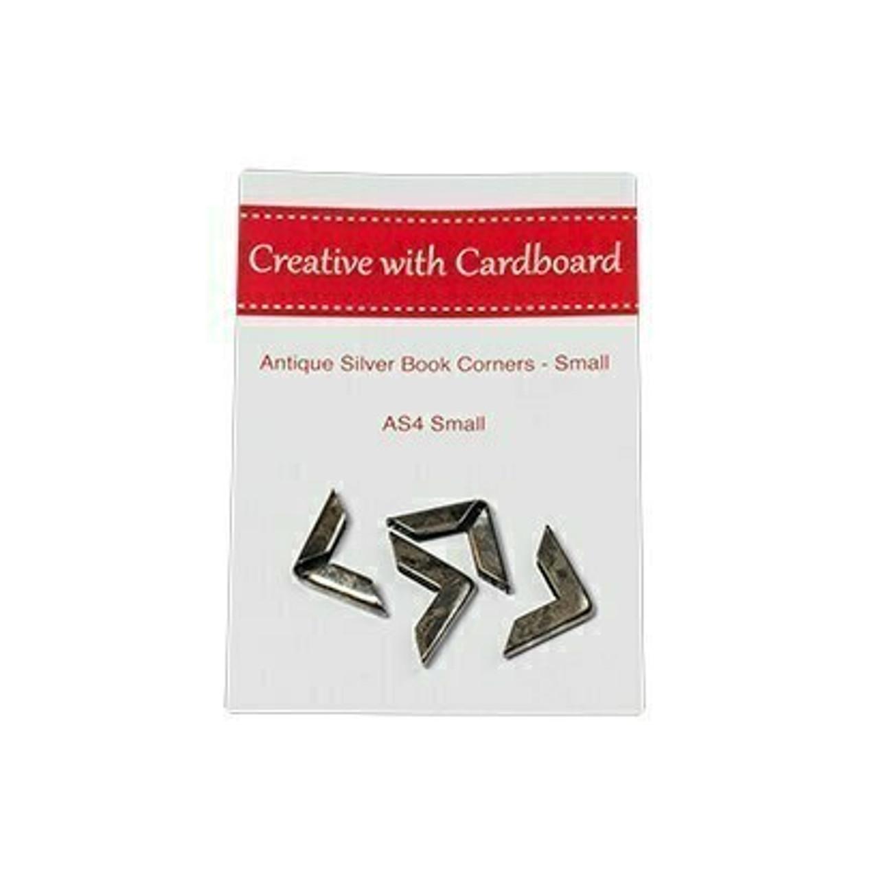 Rinske Stevens Designs: Antique Silver Book Corners Small