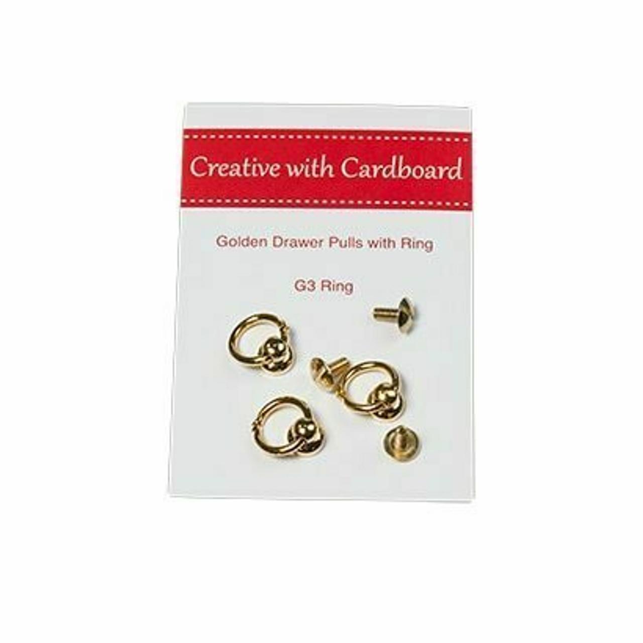 Rinske Stevens Designs: Golden Drawer Pulls