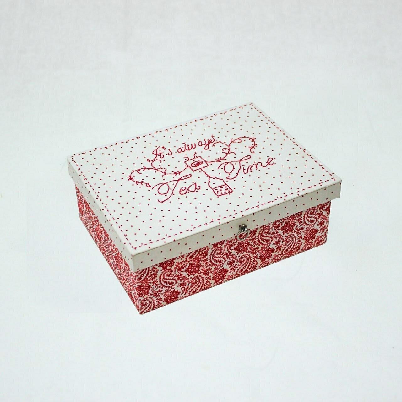 Rinske Stevens Designs : Tea Box
