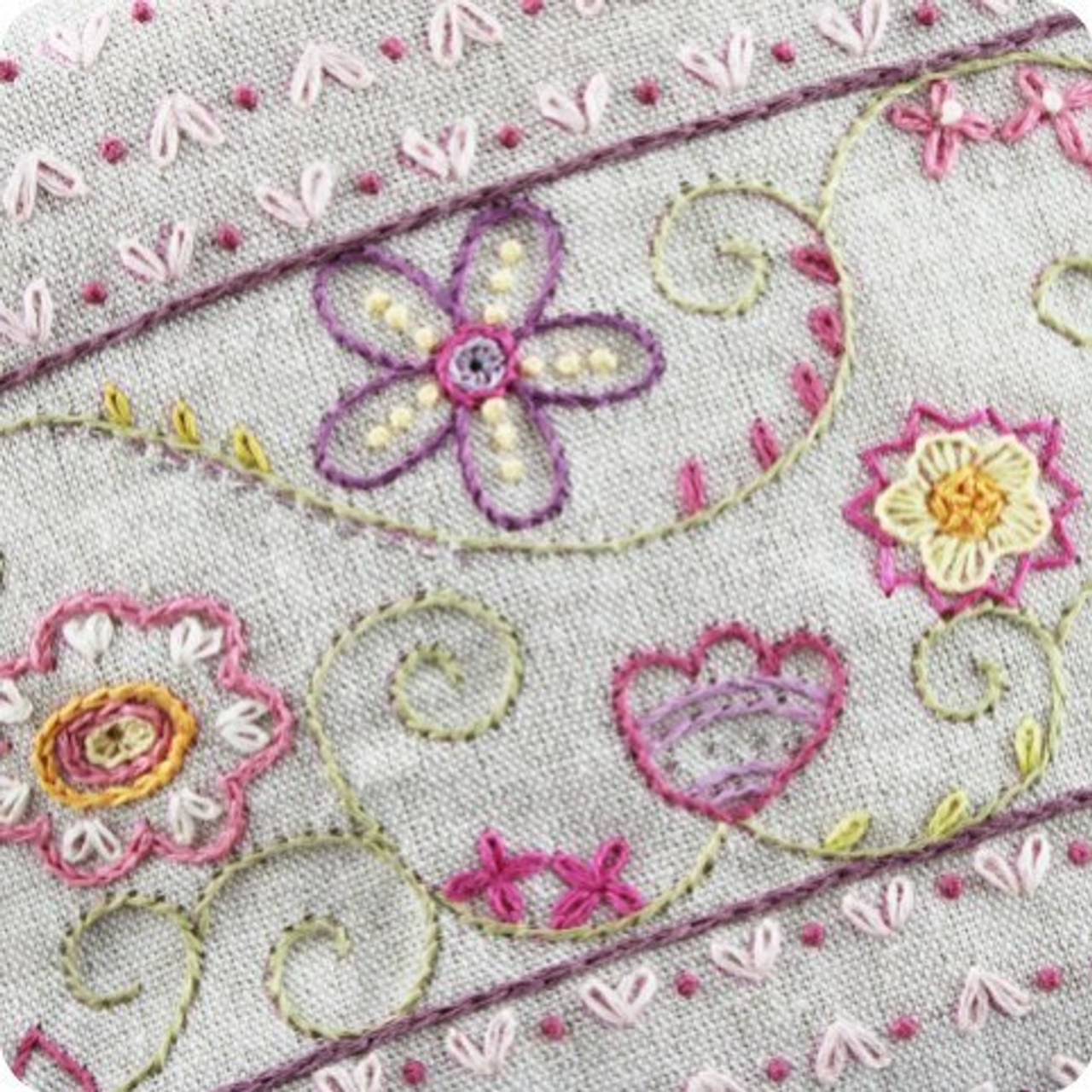 Un Chat dans l'aiguille : Trousse fleurie