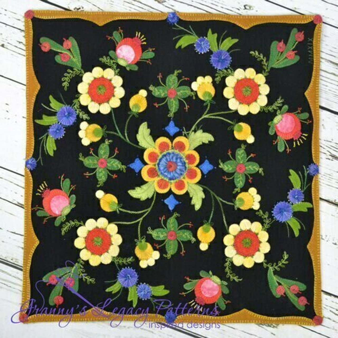 Granny's Legacy : Rosemary's Garden Pattern and Beads