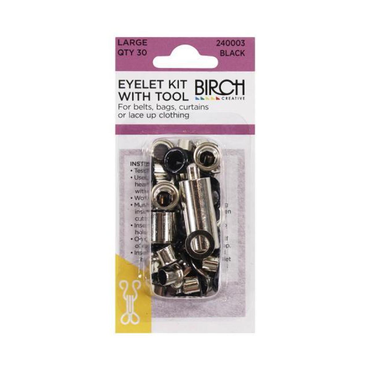 Eyelet Kit and Tool - Large