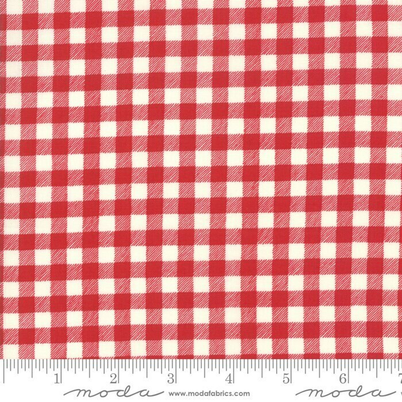 Good Times : Gingham, Red