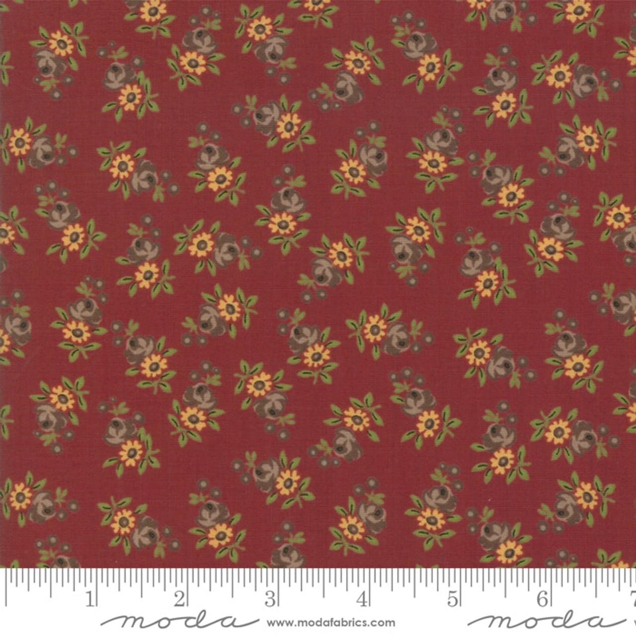 Betsy Chutchian : Nancys Needle, Prairie Flowers, Berry Red