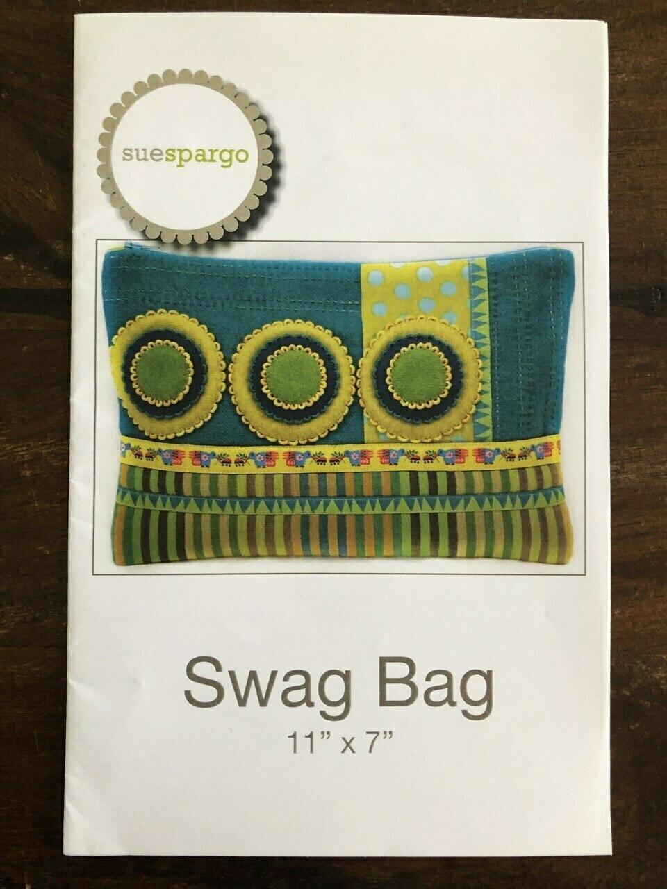 Sue Spargo : Swag Bag Pattern