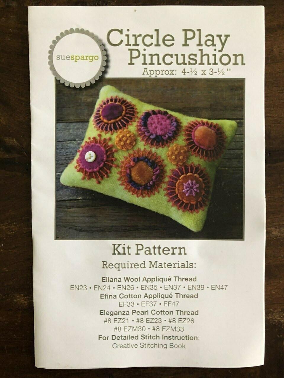 Sue Spargo :  Circle Play Pincushion Starter Kit