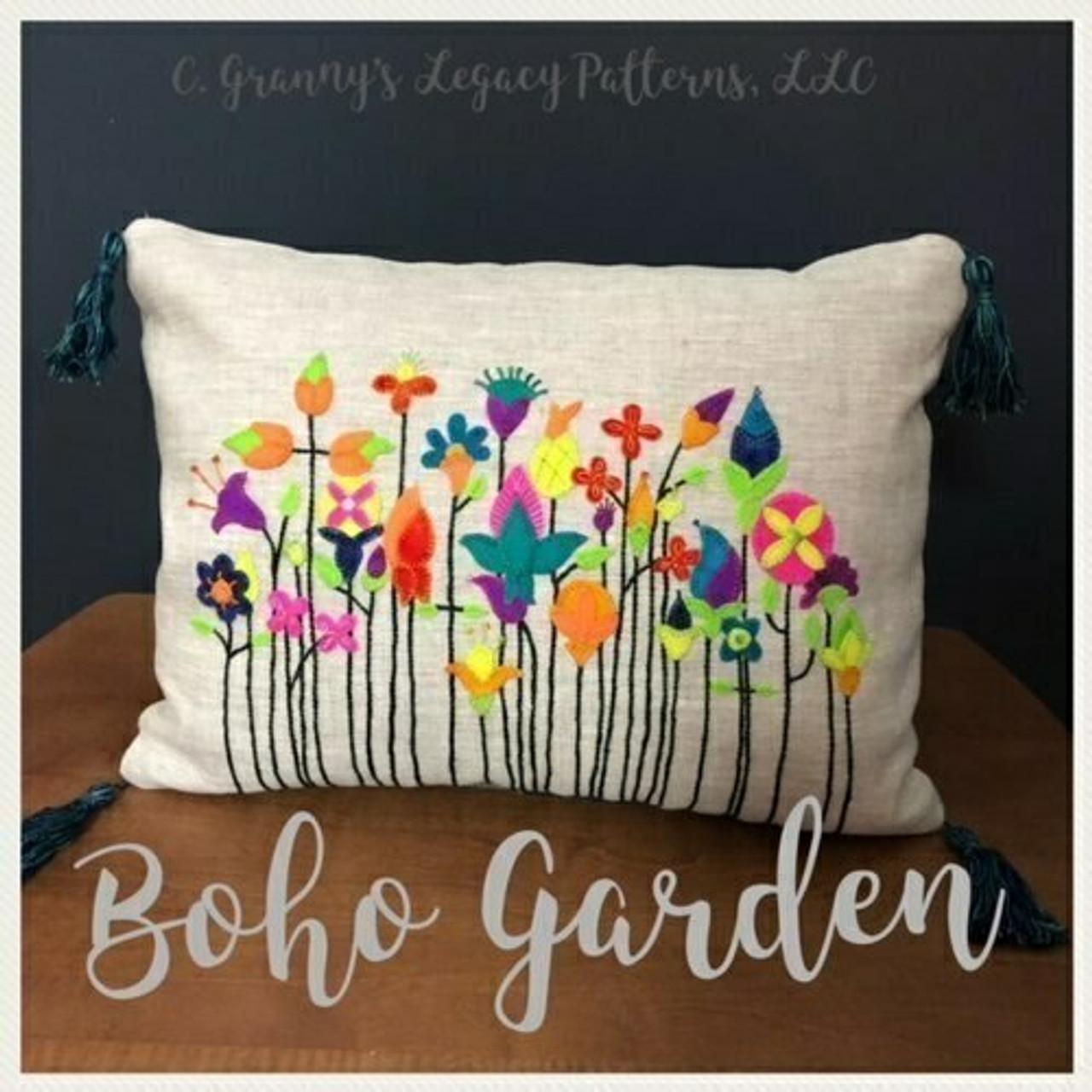 Granny's Legacy : Boho Garden Pattern and Kit