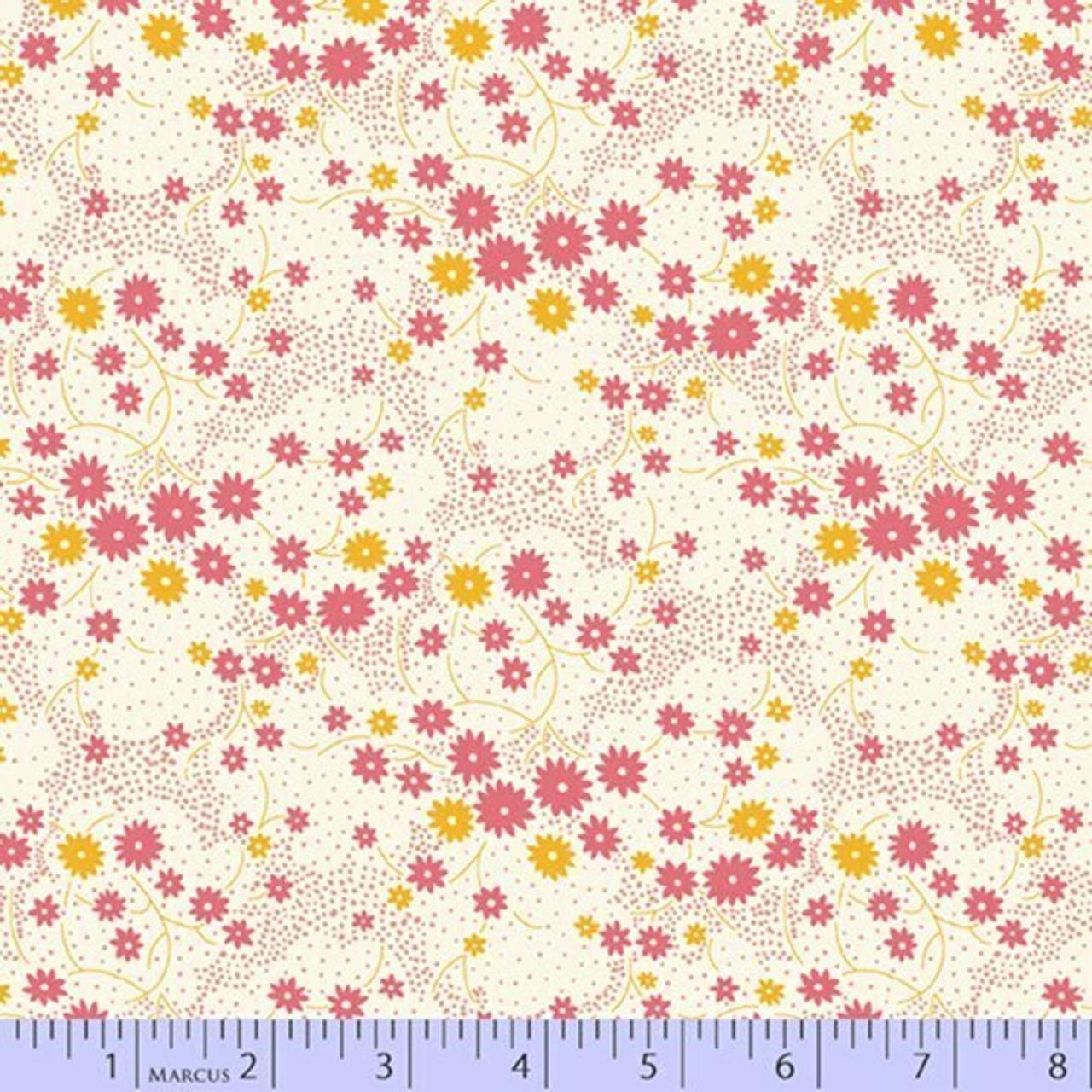 Aunt Grace's Apron - Pink Sprinkle Blooms