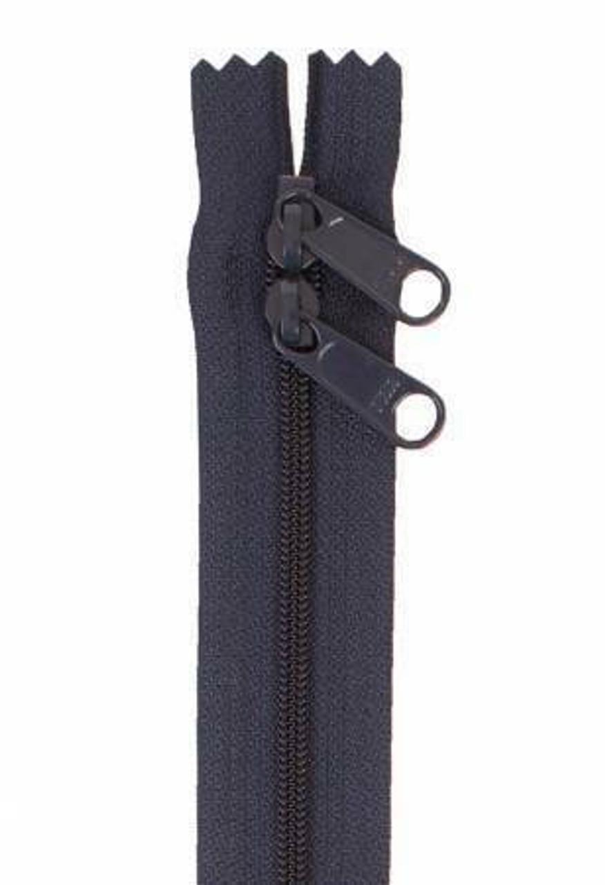 Handbag Zipper 30in -  Navy