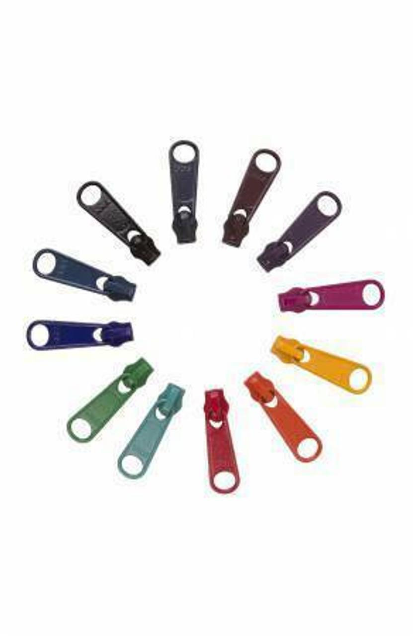 12 Zipper Pulls - Darks