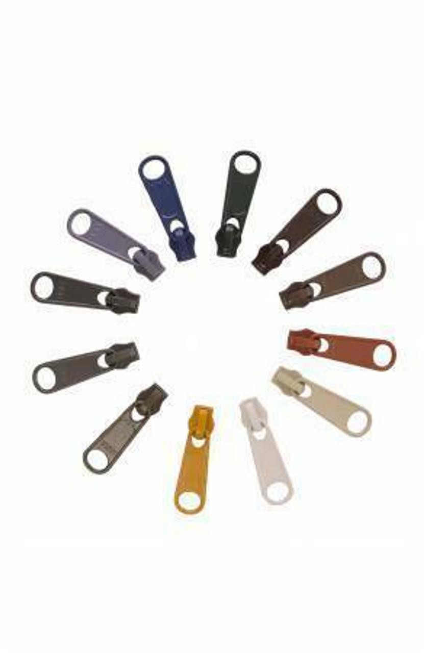 12 Zipper Pulls - Neutrals