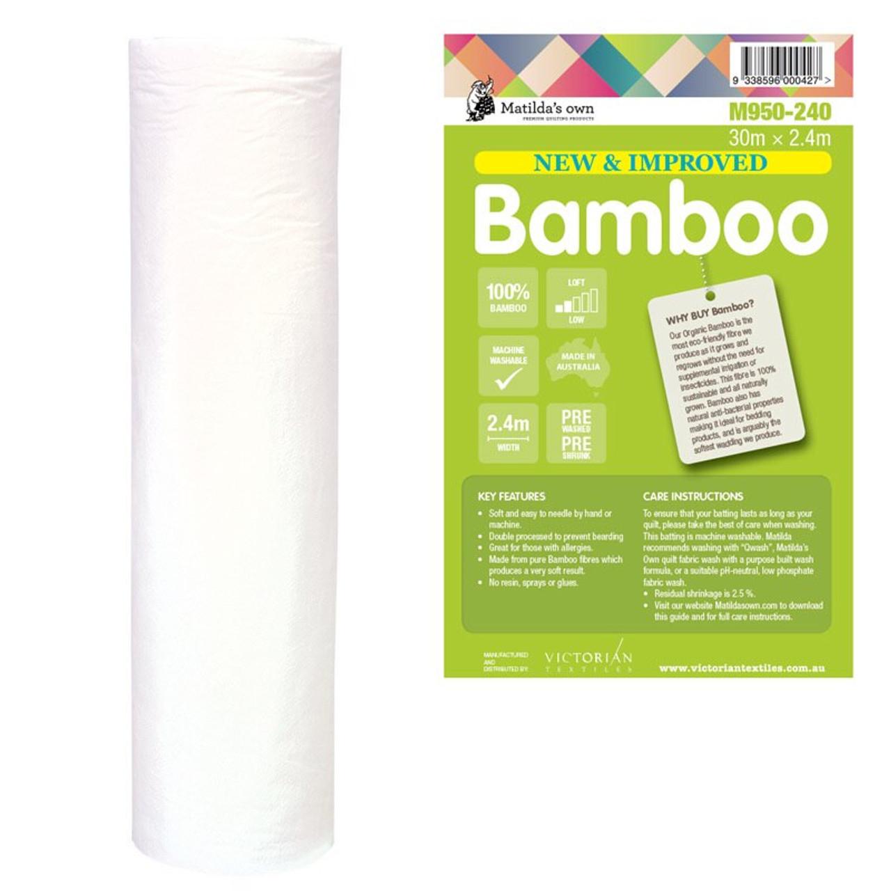 100% Bamboo Batting