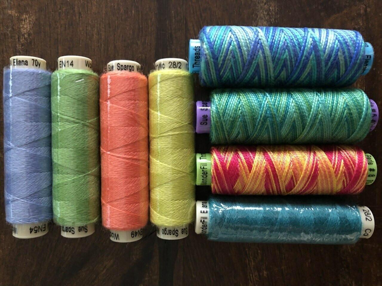 Sue Spargo : Pyramid Pinnys No. 1 Thread Pack