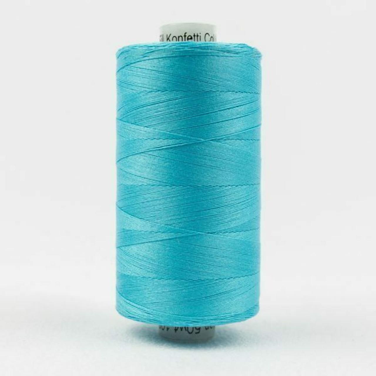 Konfetti - Medium Peacock Blue