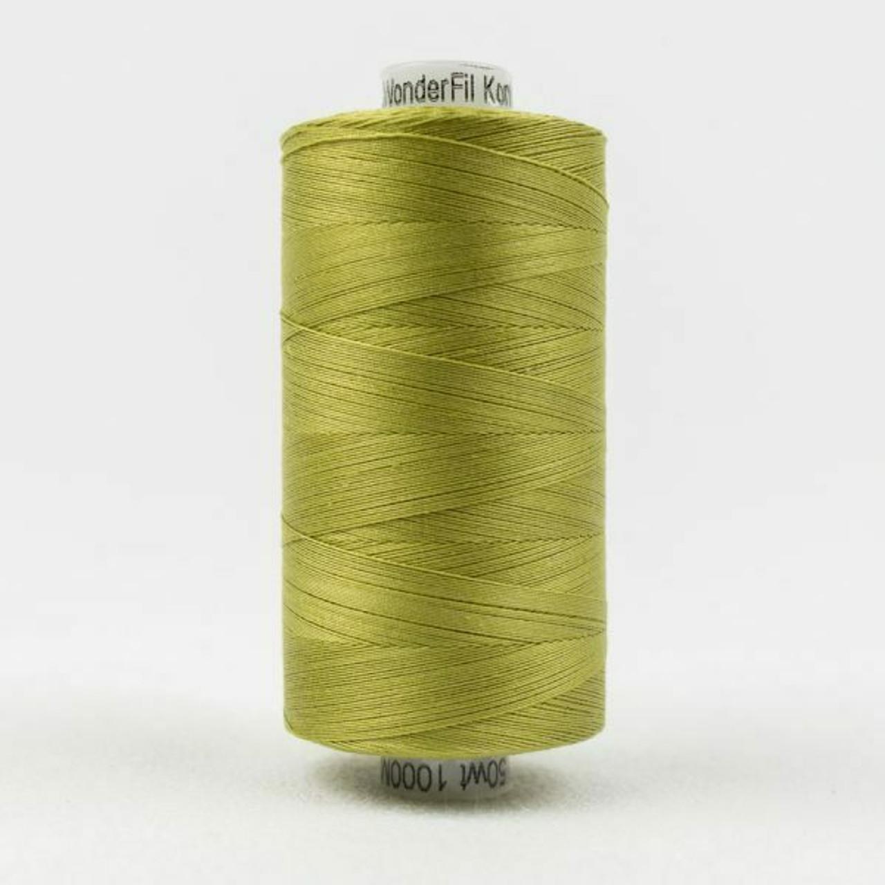 Konfetti - Brass Green