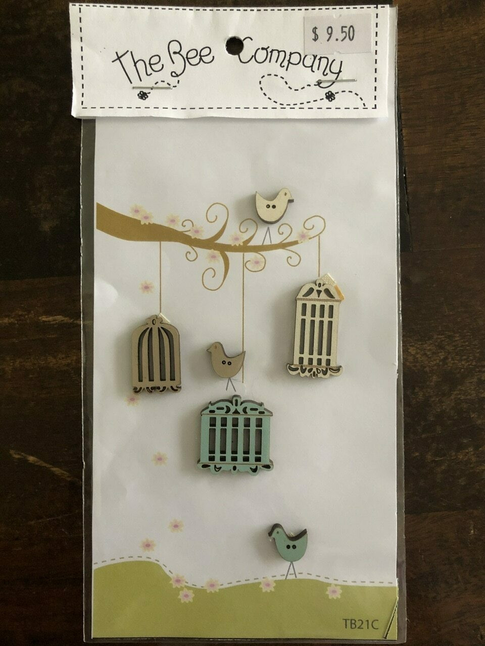 The Bee Company : Birdhouses Buttons