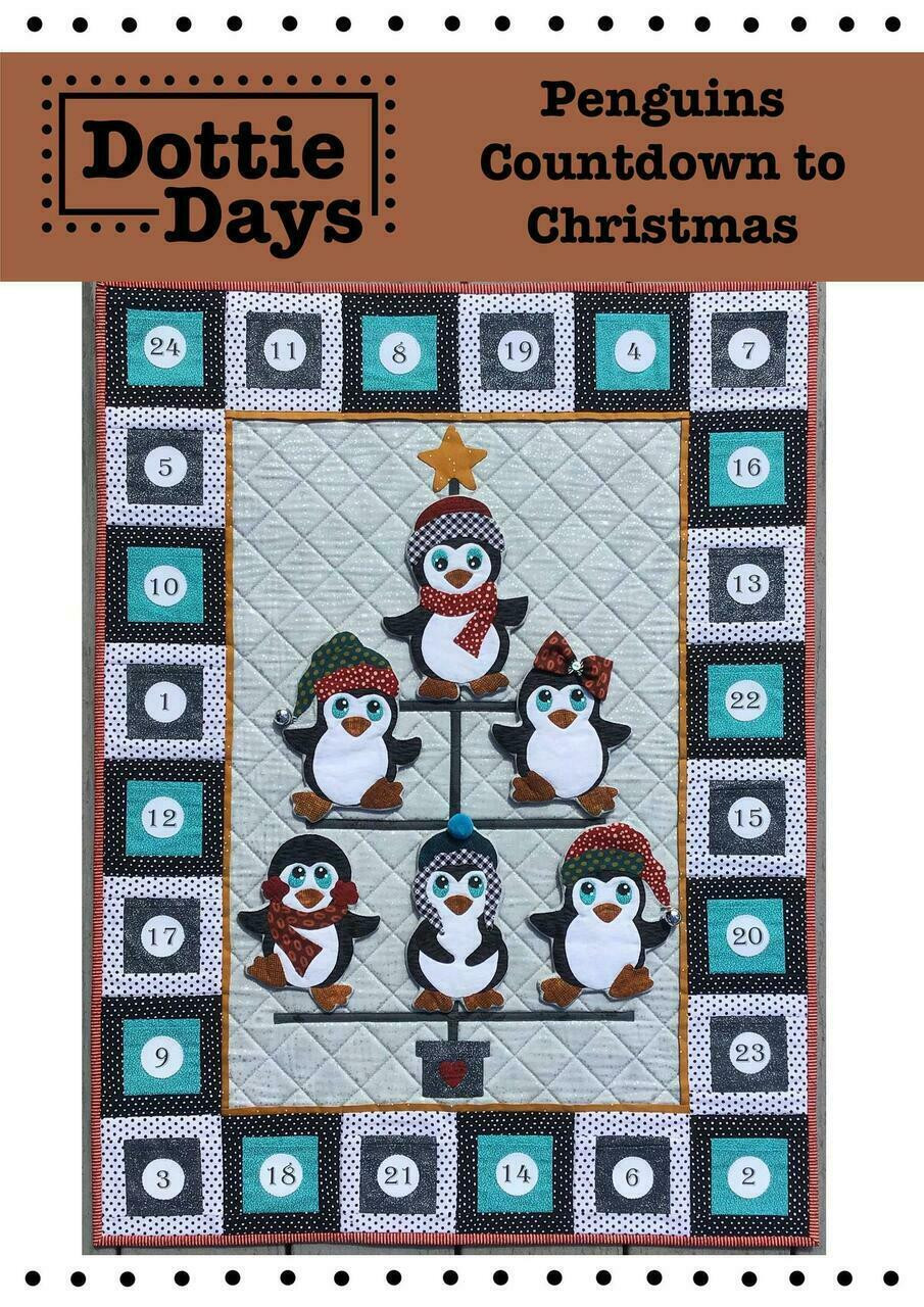 Dottie Days : Penguins Countdown to Christmas Kit
