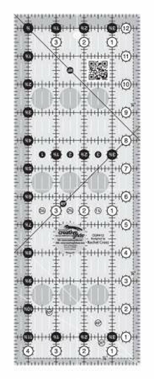 "Creative Grids Quilt Ruler - 4 1/2"" x 12 1/2"""