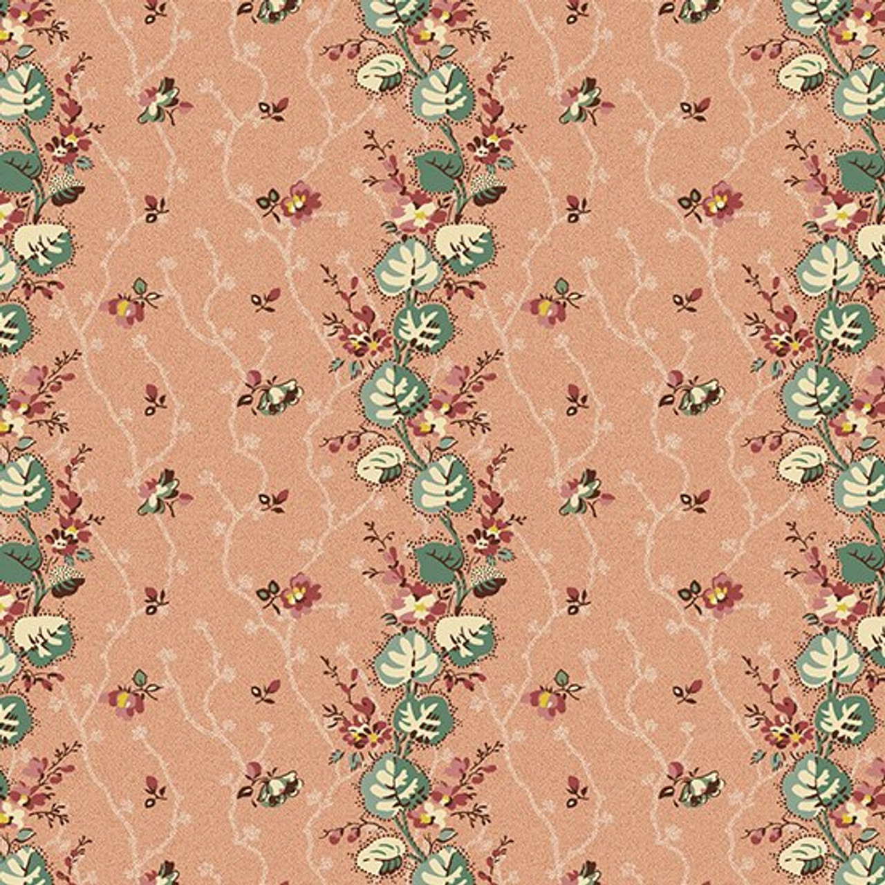 Anne's English Scrapbox by Di Ford Hall : Floral Stripe, Rose