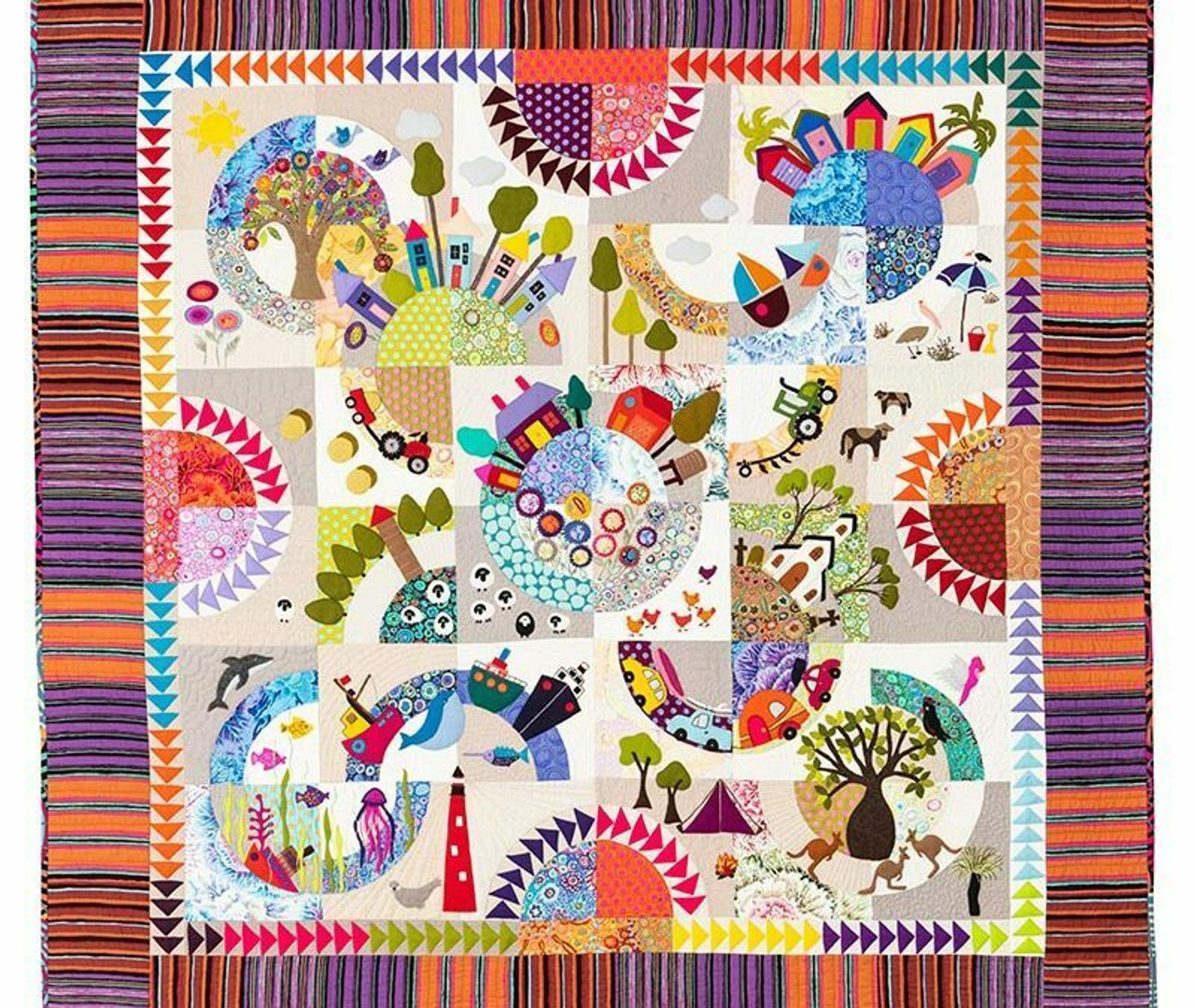 Wendy Williams : Over the Hill - Quilt Pattern
