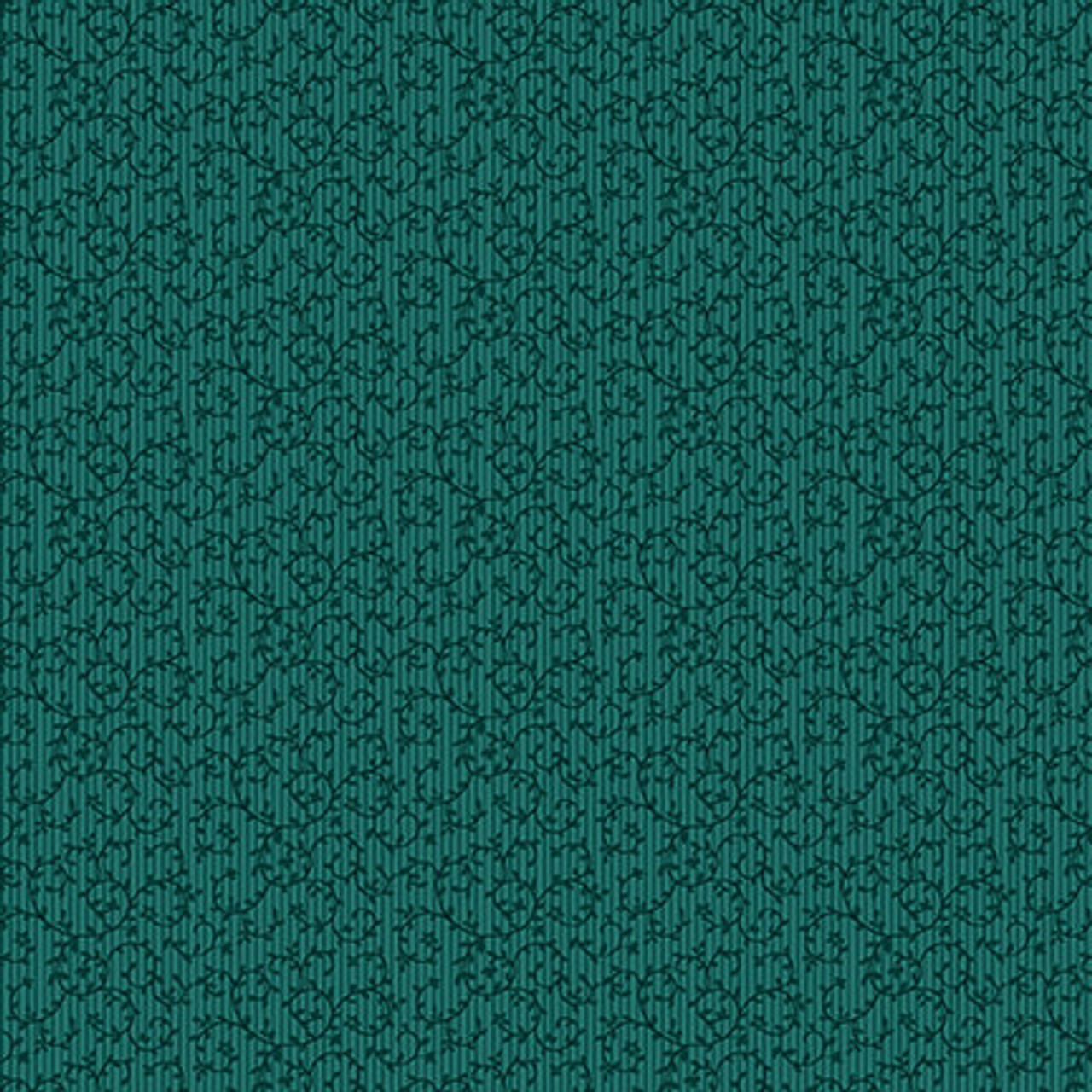 Tarrytown by Michelle Yeo : Tiny Vines - Teal