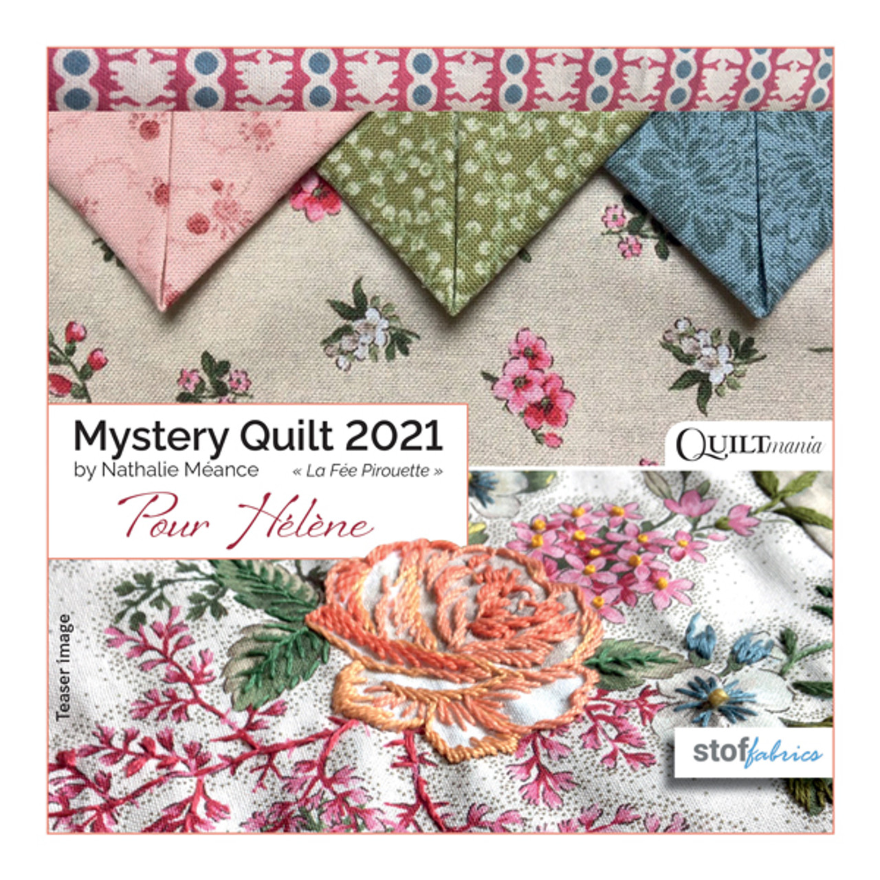 Pour Hélène SOLD OUT- Quiltmania Mystery BOM for 2021