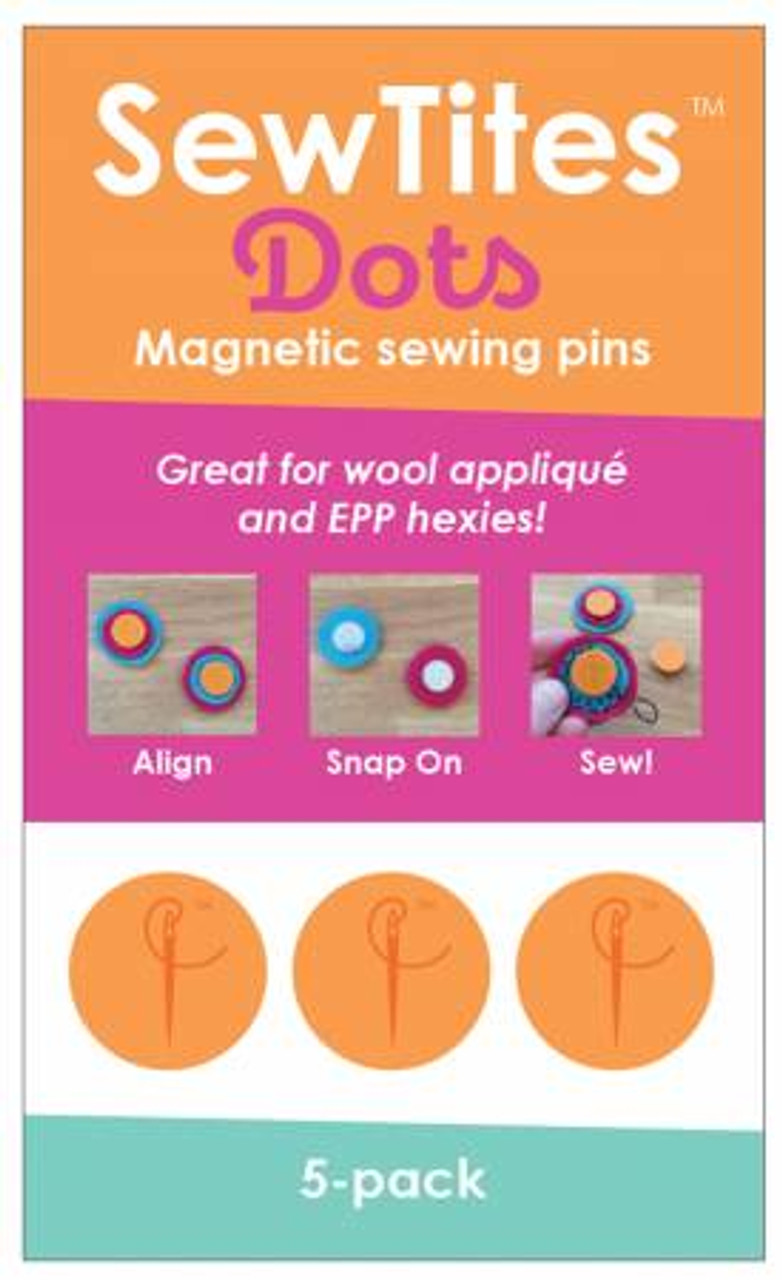 Sew Tites Magnetic Pin Dots 5 Pack