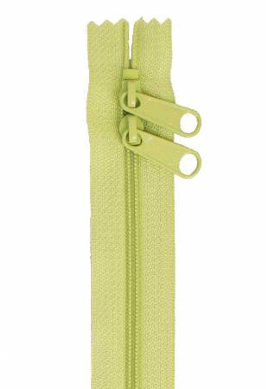 Handbag Zipper 40in Chartreuse