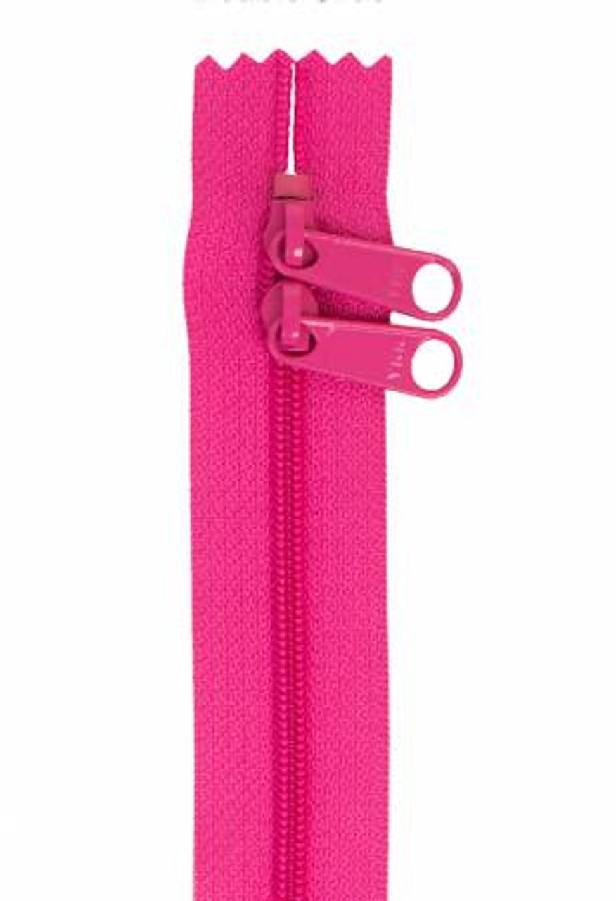 Handbag Zipper 30in -  Raspberry