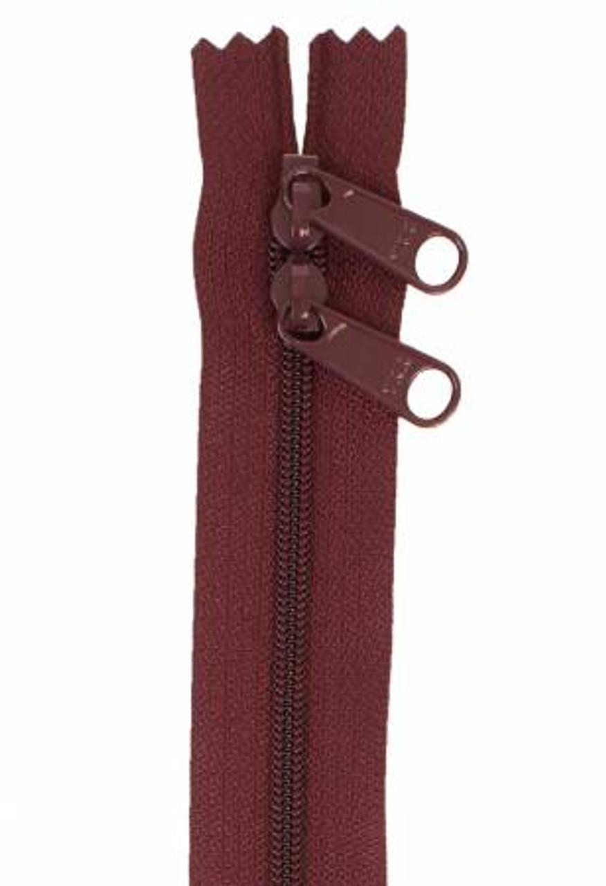 Handbag Zipper 30in - Cranberry