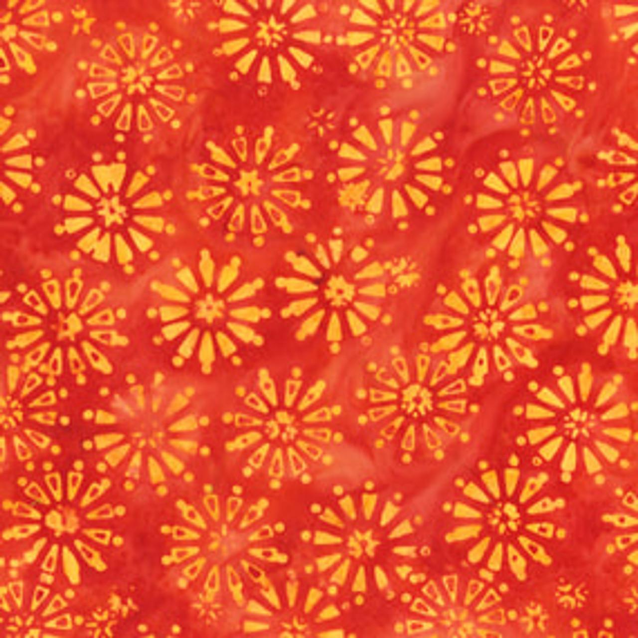 BeColourful Batik : Flora, Mandarin
