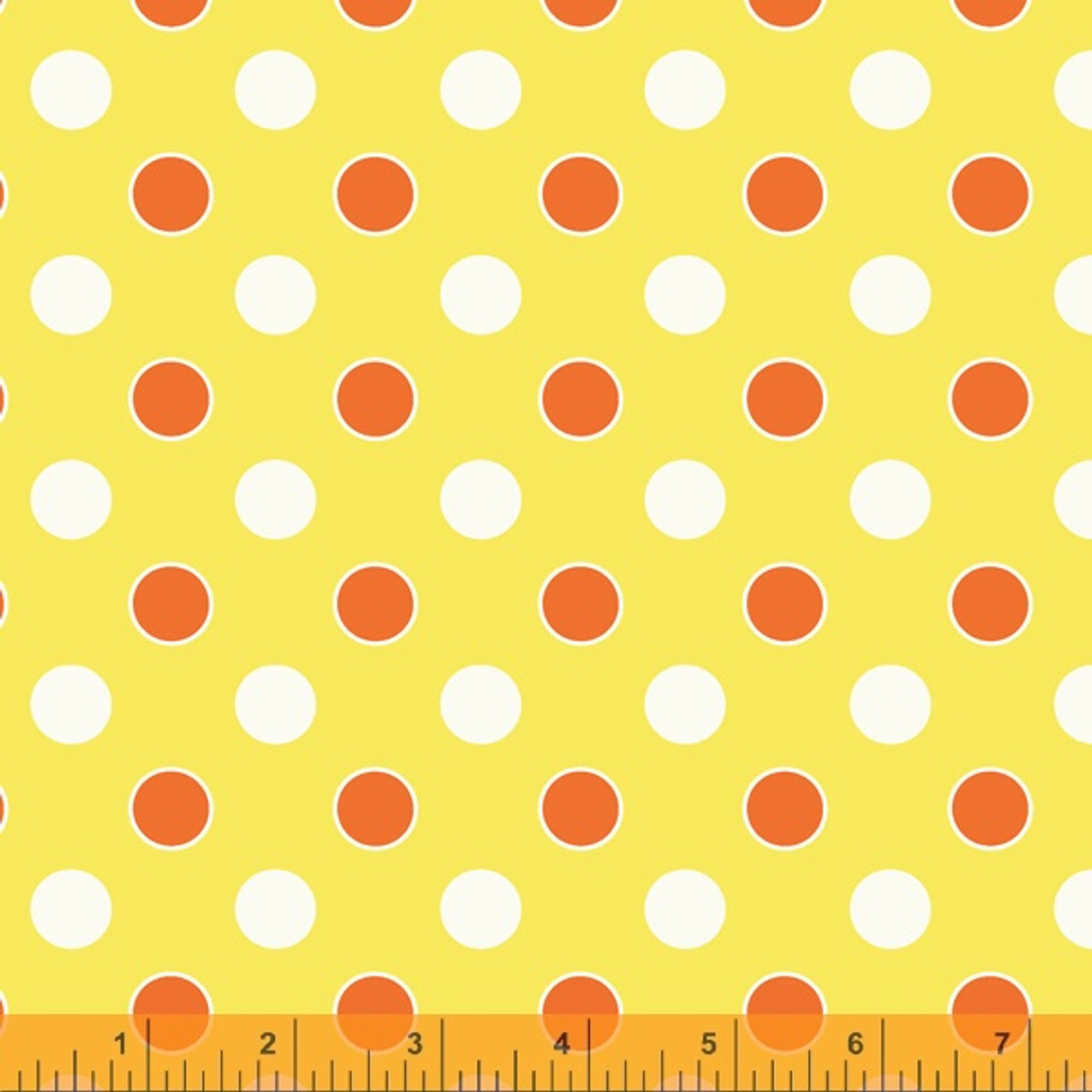Five + Ten by Denyse Schmidt : Dots, Yellow