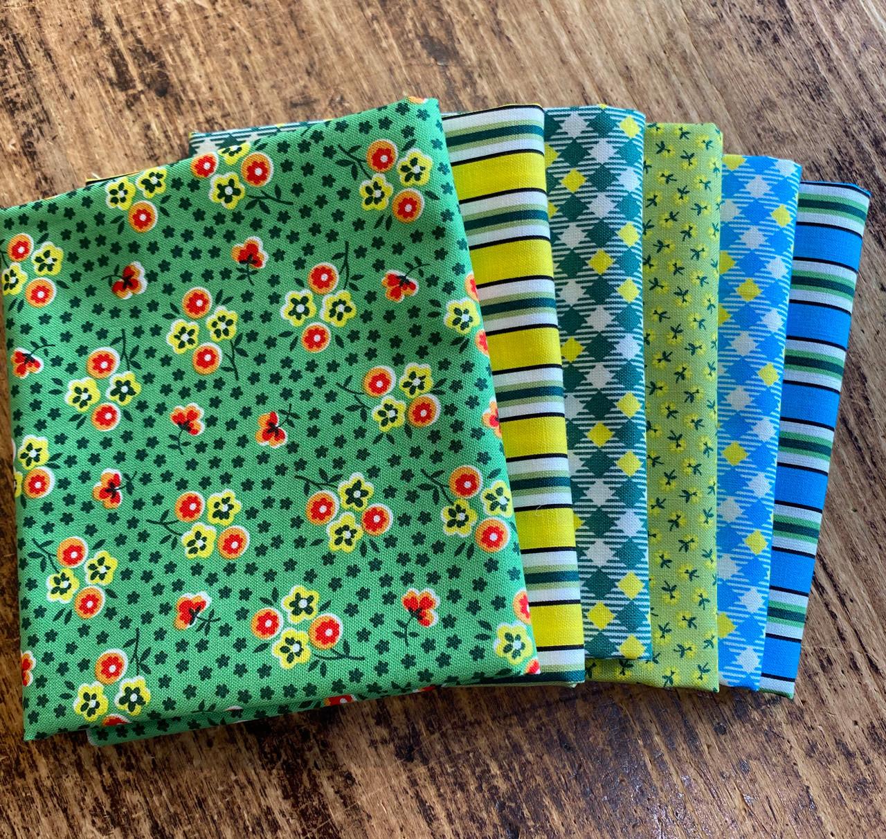 Five + Ten by Denyse Schmidt : Fat Quarter Bundles