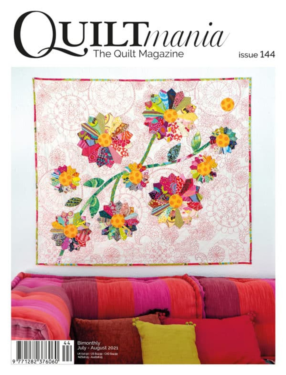 Quiltmania Magazine No.144
