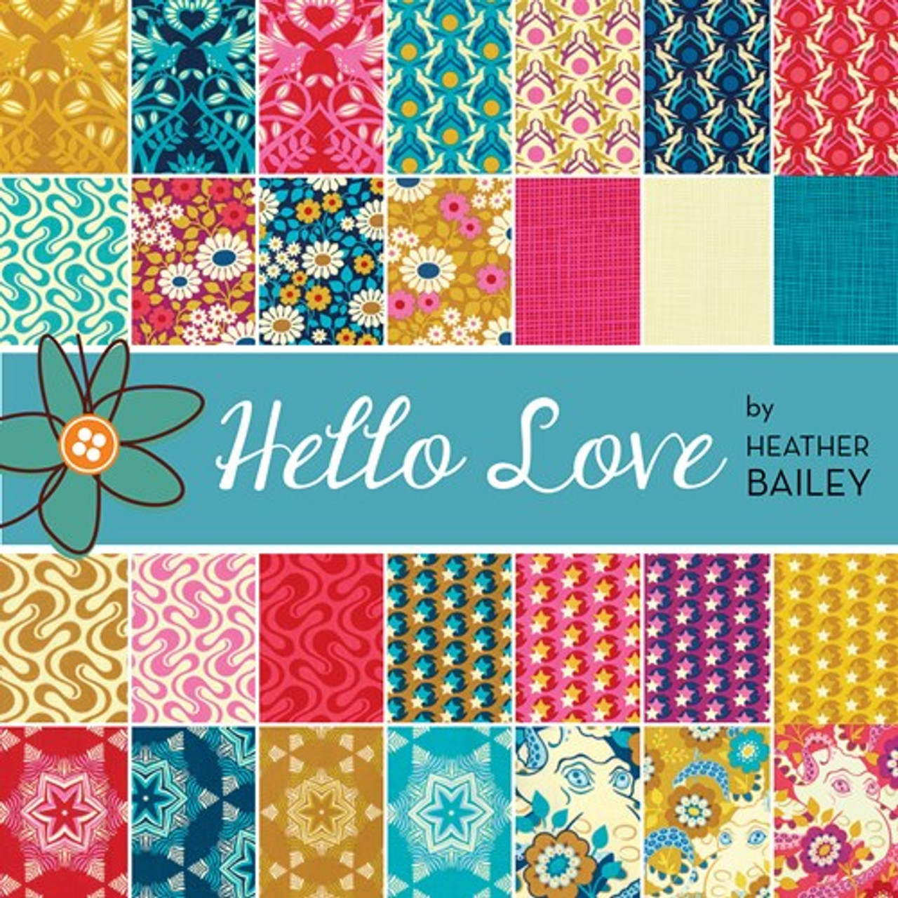 Hello Love by Heather Bailey Layer Cake