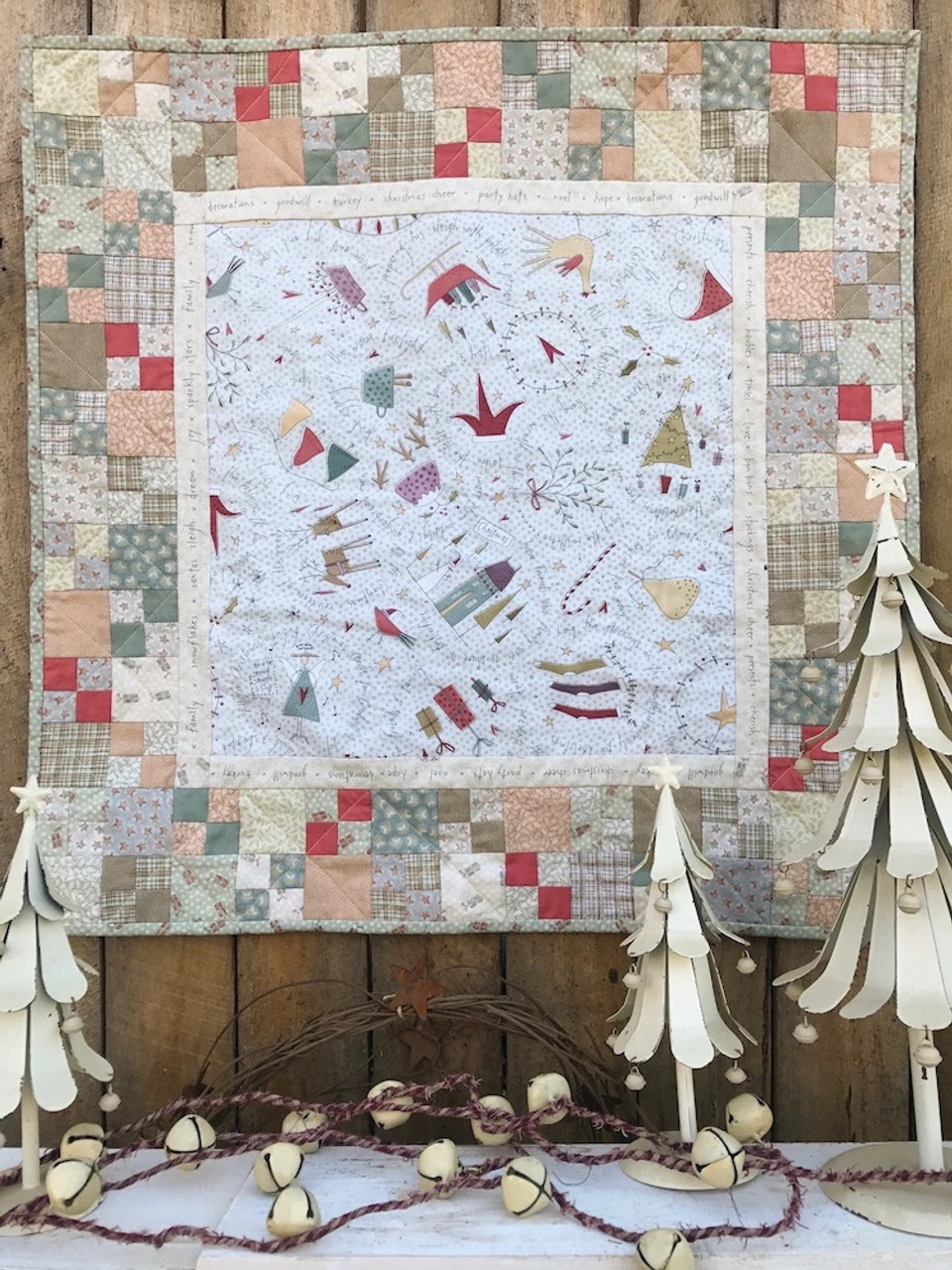 All for Christmas Table  Topper