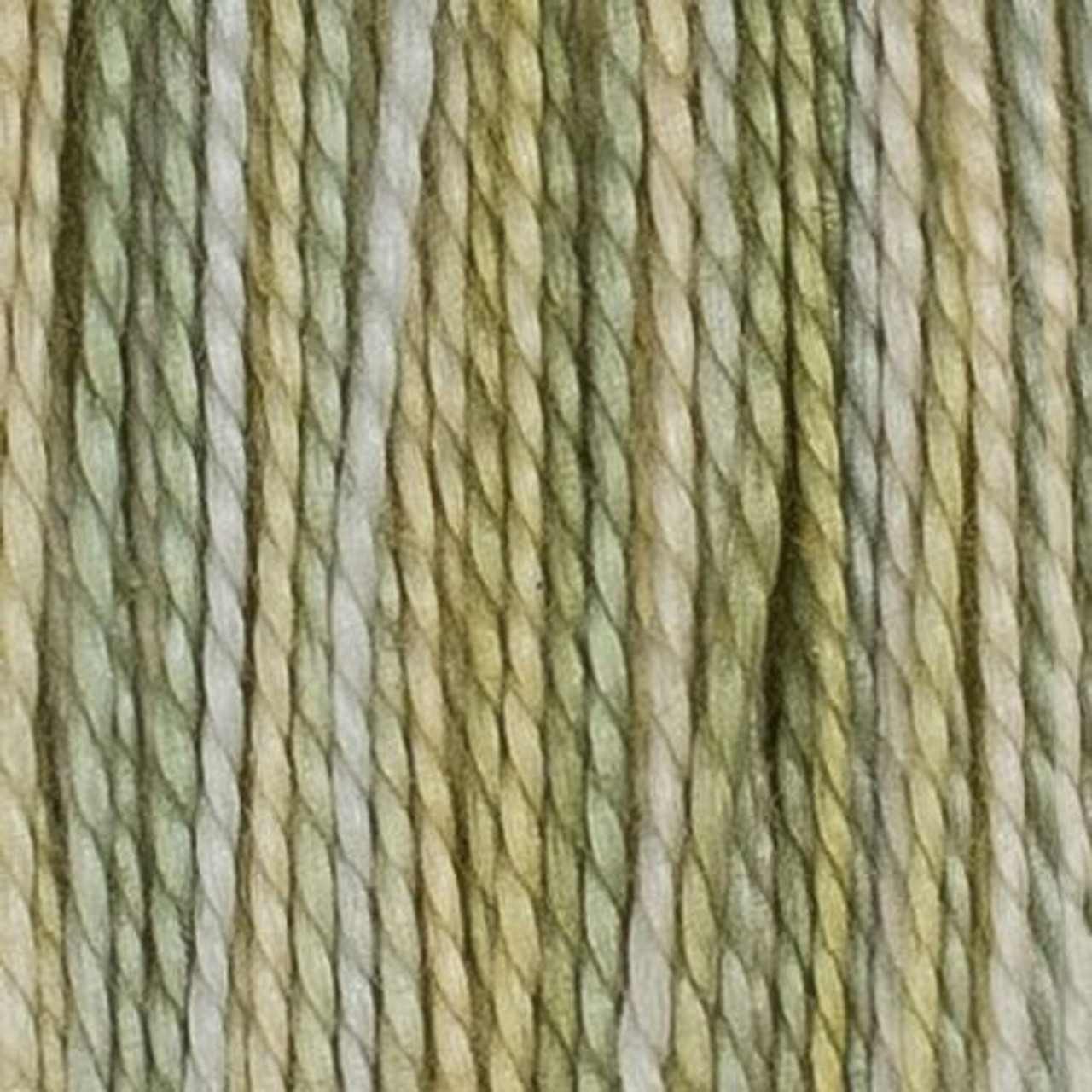 House of Embroidery : Cape Town Coastal Drive Collection, 8wt Perle Cotton - Lemon and Lime (25C)