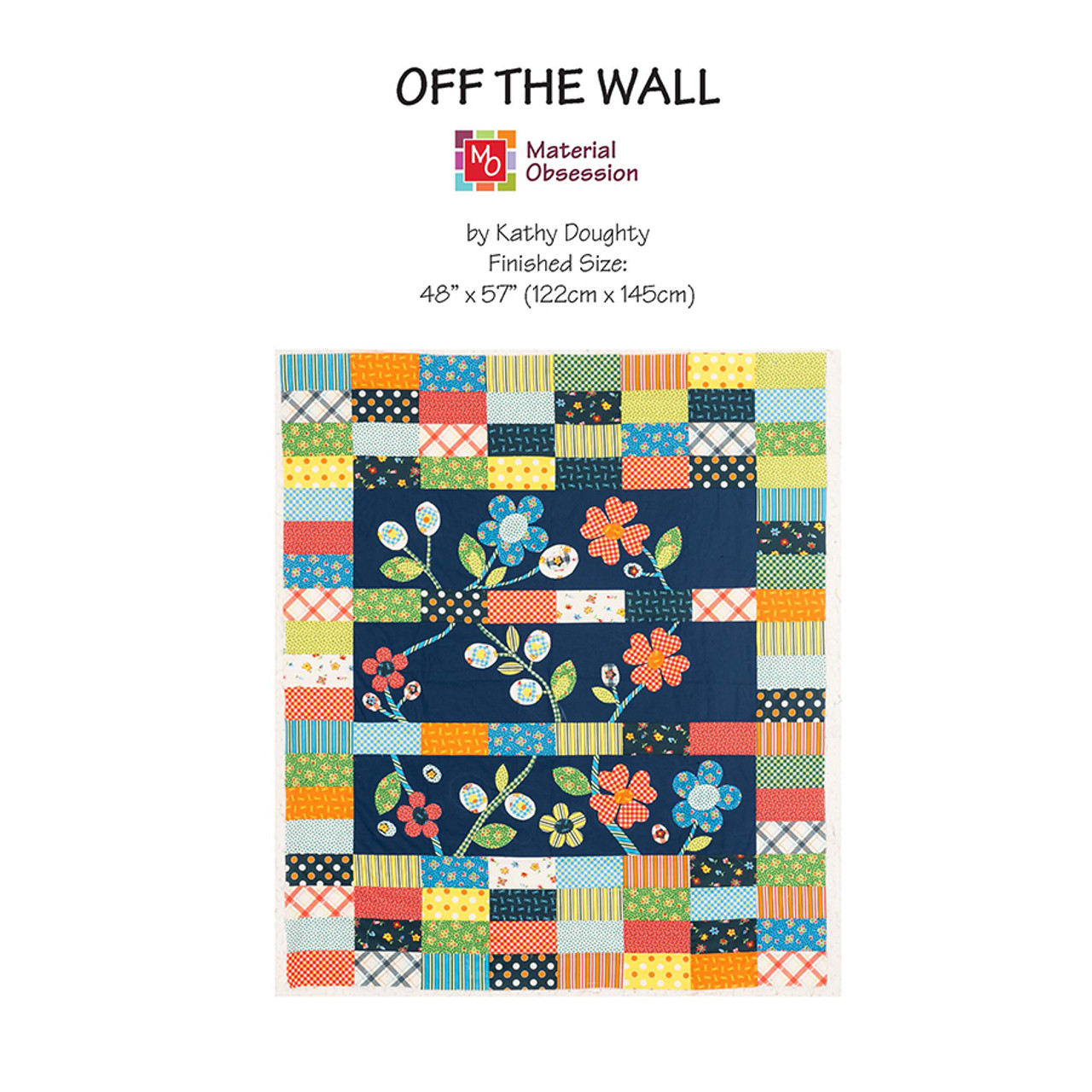 Off the Wall Pattern from Material Obsession
