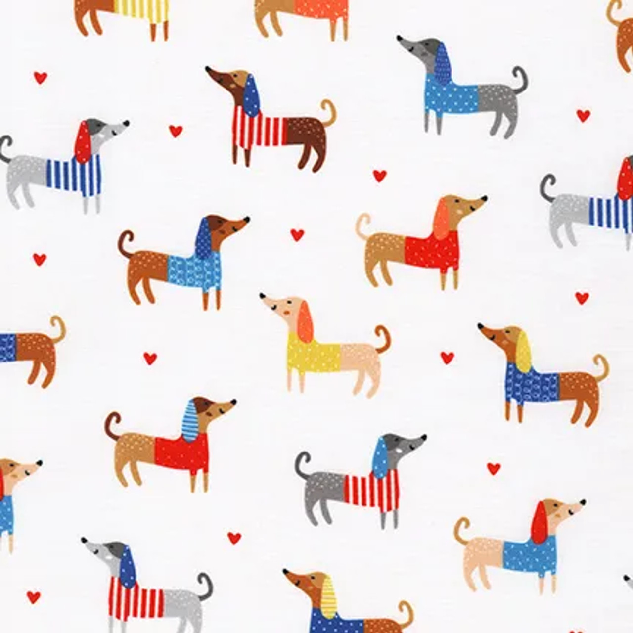 Whiskers and Tails : Allover Coloured Dogs - White